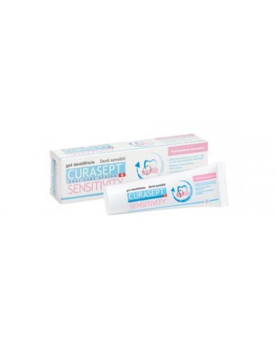 Curasept Sensivity Dentifricio Trattamento Intensivo 50ml - Antica Farmacia Del Lago