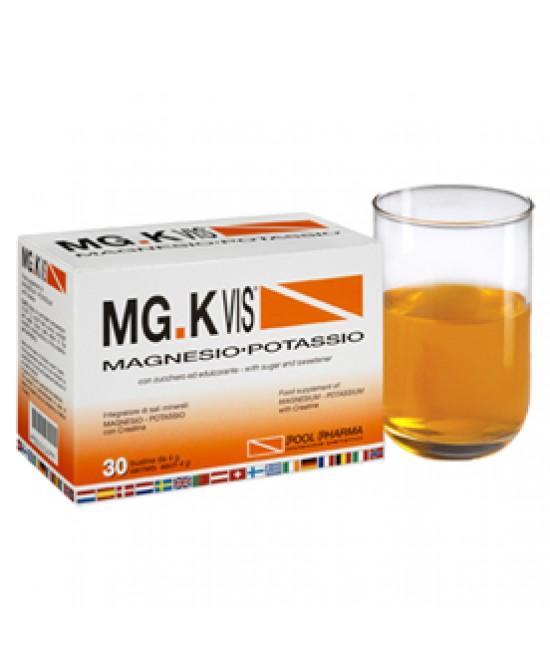 MGK Vis Integratore Magnesio e Potassio  Arancia 30 Buste + 14 in omaggio - La tua farmacia online