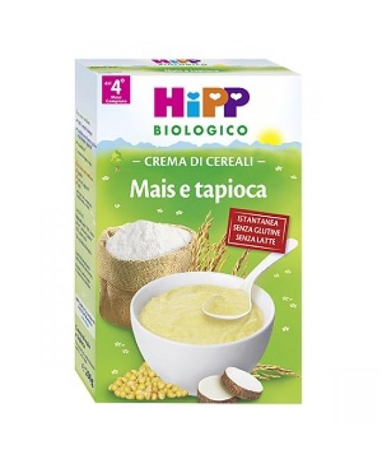 HiPP Biologico Crema Ai Cereali Mais E Tapioca 200g - FARMAEMPORIO