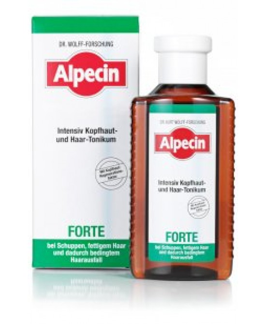 Alpecin Forte Tonico Intensivo Antiforfora 200ml - FARMAEMPORIO