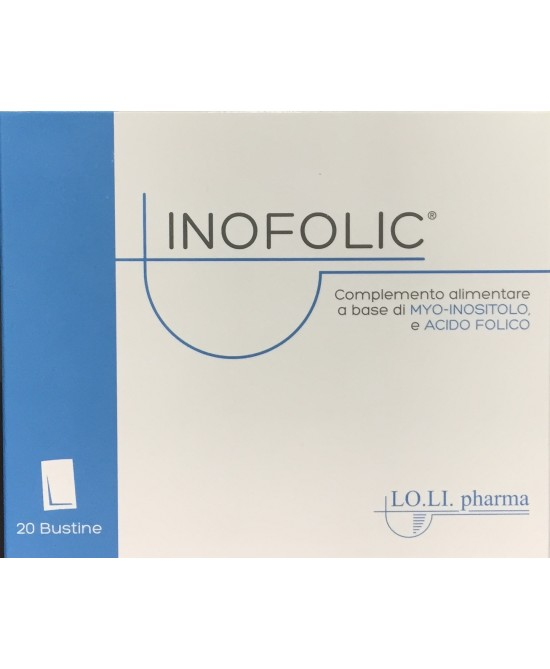 Inofolic Integratore 20 Bustine - Farmabravo.it