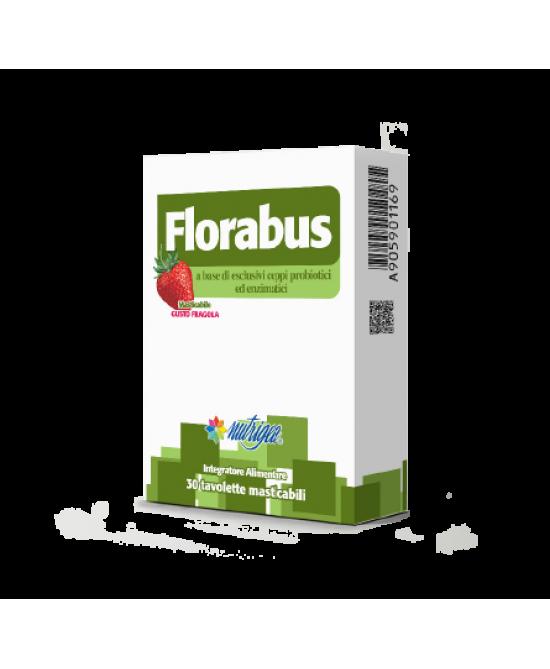 Florabus Integratore Alimentare 30 Tavolette Masticabili - Farmacia 33