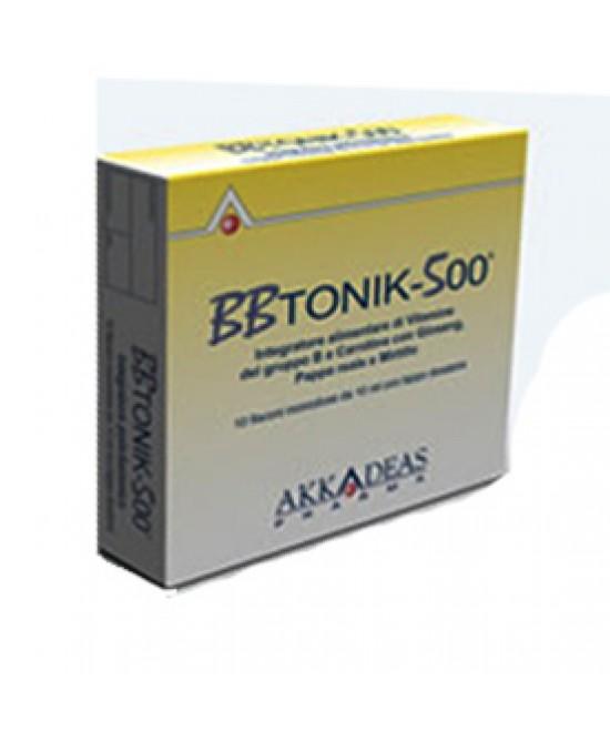 Bbtonik 500 Integrat 10flx10ml - Farmacia 33