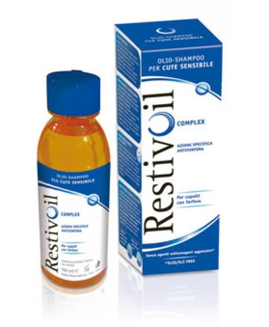RestivOil Complex Olio-Shampoo Azione Antiforfora 250ml - La tua farmacia online