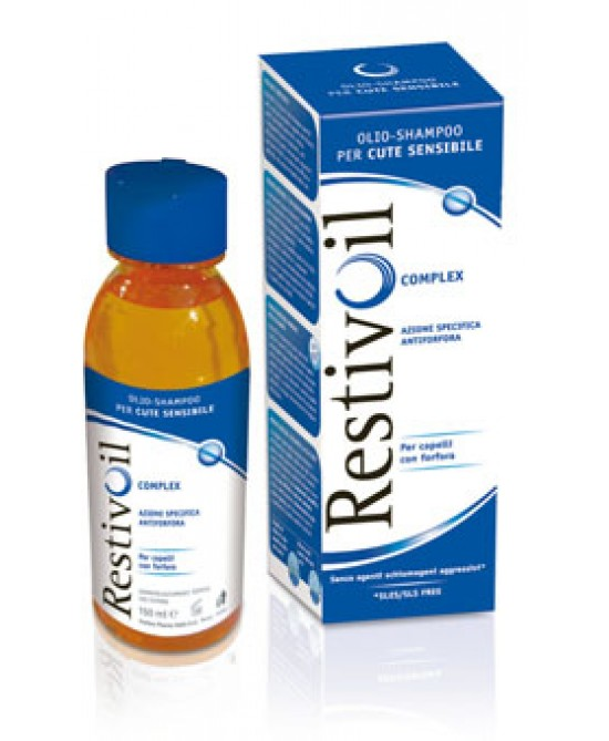 RestivOil Olio-Shampoo Complex Azione Antiforfora 250ml - Farmastar.it