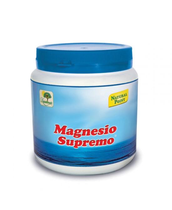 Natural Point Magnesio Supremo Integratore Alimentare 300g - Farmastar.it