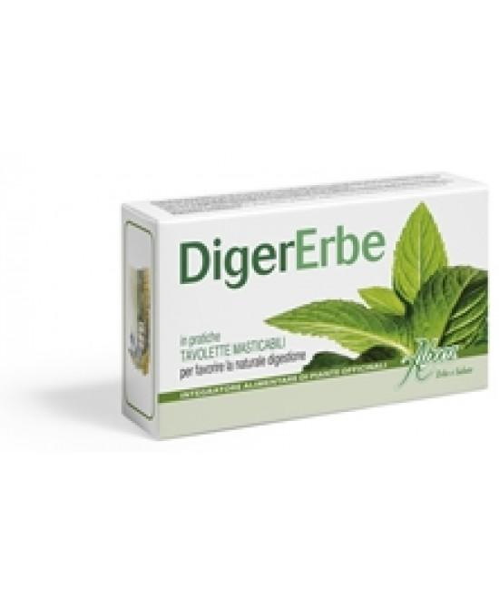 Aboca Digererbe 30 Tavolette Da 1.5g - Antica Farmacia Del Lago