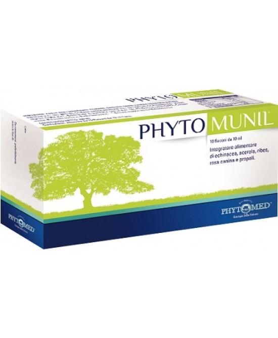 Phytomunil Integratore Alimentare 10 Flaconcini Da 10ml - Zfarmacia