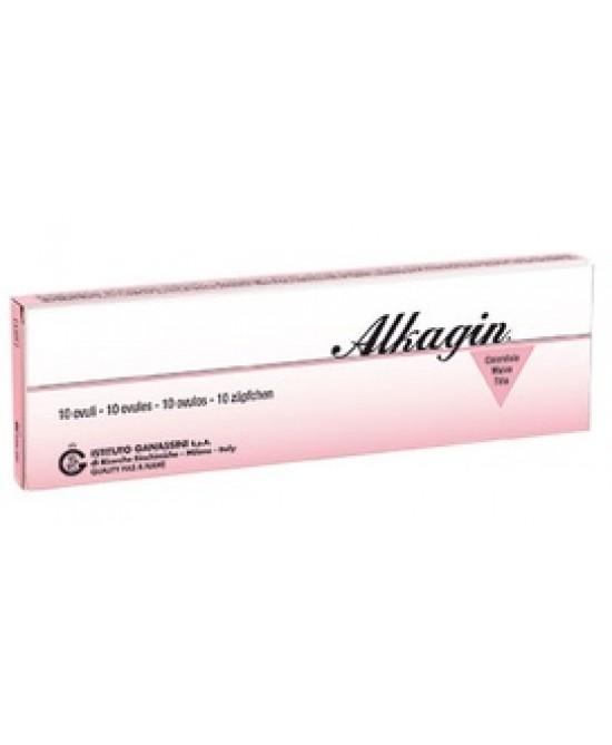 Alkagin 10 Ovuli 3,250g - Farmacento