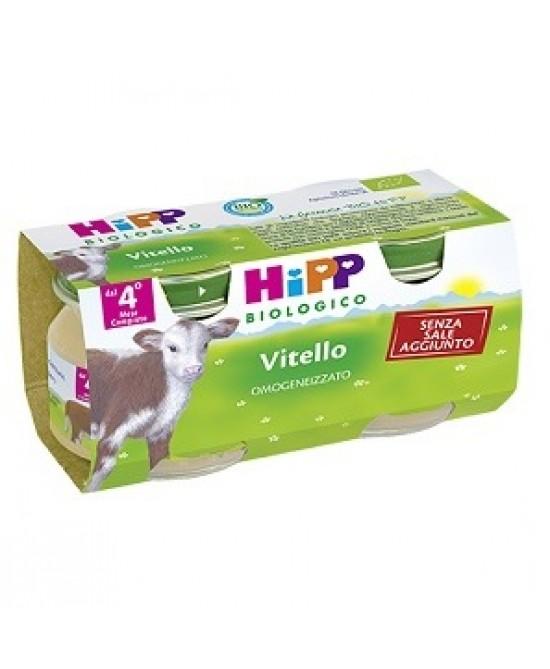 HiPP Biologico Omogeneizzato Vitello 2x80g - Farmacia 33