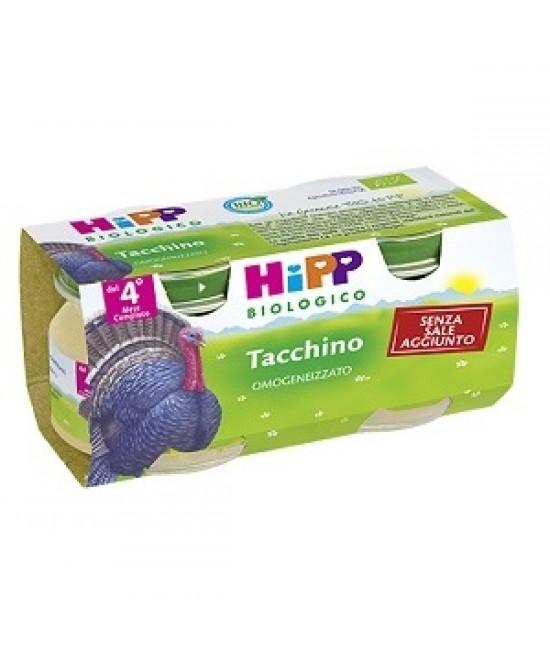 HiPP Biologico Omogeneizzato Tacchino 2x80g - Farmacia 33