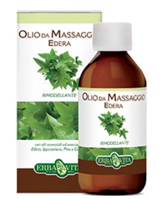 ErbaVita  Olio Da Massaggio  Edera 250ml - FARMAEMPORIO