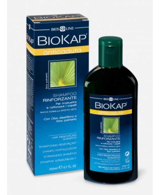 Bios Line BioKap Shampoo Anticaduta Rinforzante 200ml - Farmastar.it