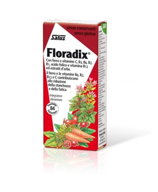 Salus Floradix  84 Tavolette - Zfarmacia