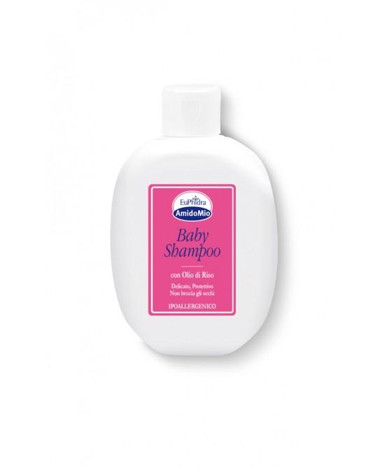 EuPhidra AmidoMio Baby Shampoo Con Olio Di Riso  200ml - Farmacento