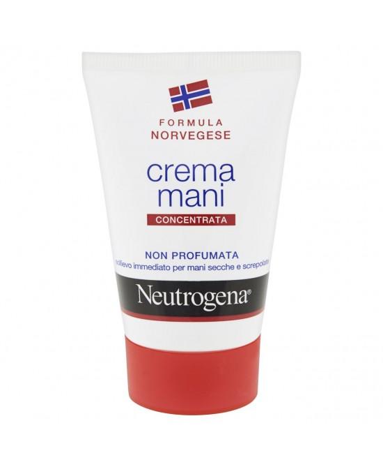 Neutrogena Crema Mani Concentrata Senza Profumo 50ml - Farmamille