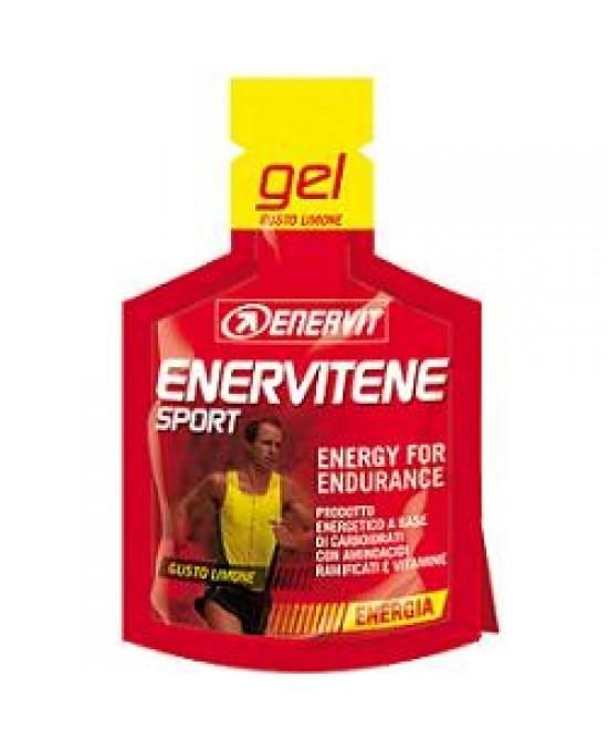 Enervit Enervitene Sport Gel Minipack da 25ml Gusto Limone - La tua farmacia online