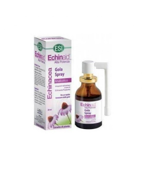 Esi Echinaid Gola Spray Analcolico 20ml - Zfarmacia