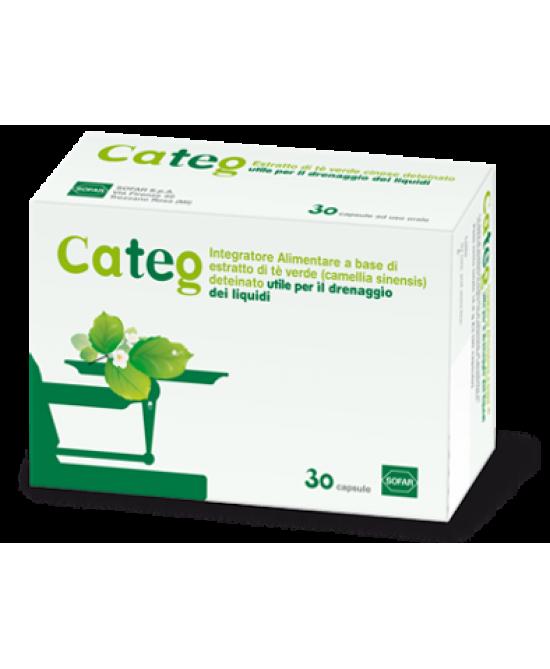 Sofar Categ Integratore Alimentare Drenante 30 Capsule - La tua farmacia online