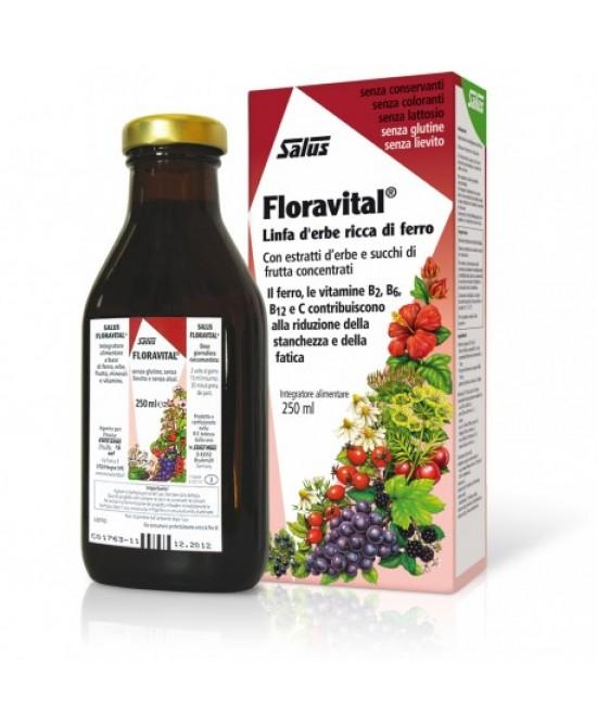 Salus Floravital Linfa D'Erbe Ricca Di Ferro 250ml - farma-store.it