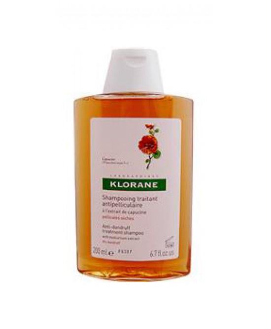 Klorane Shampoo Antiforfora All'Estratto Di Cappuccina 200ml - Zfarmacia