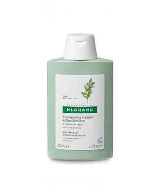 Klorane Shampoo Al Mirto 200ml - Farmamille