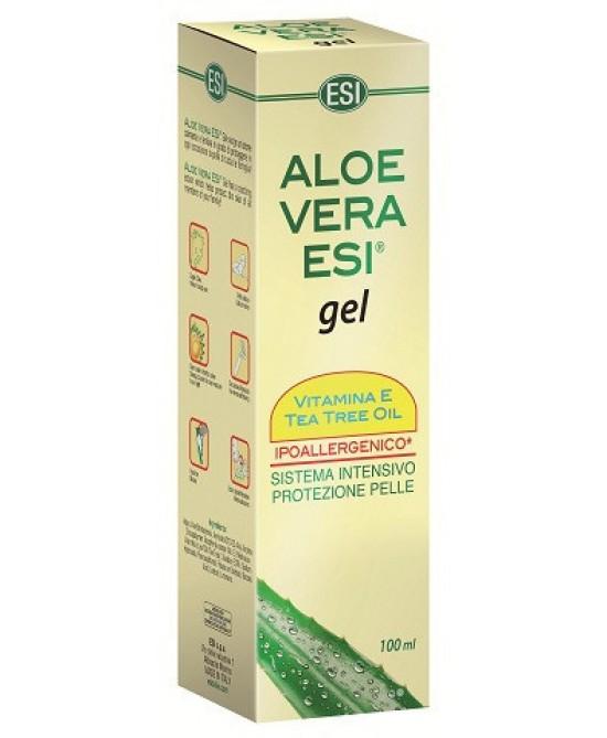 Aloe Vera Gel Vitamina E + Tea Tree 100ml - Parafarmaciabenessere.it