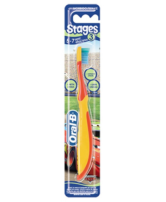 Oral-B Stages 3 Spazzolino Manuale Per Bambini - La tua farmacia online