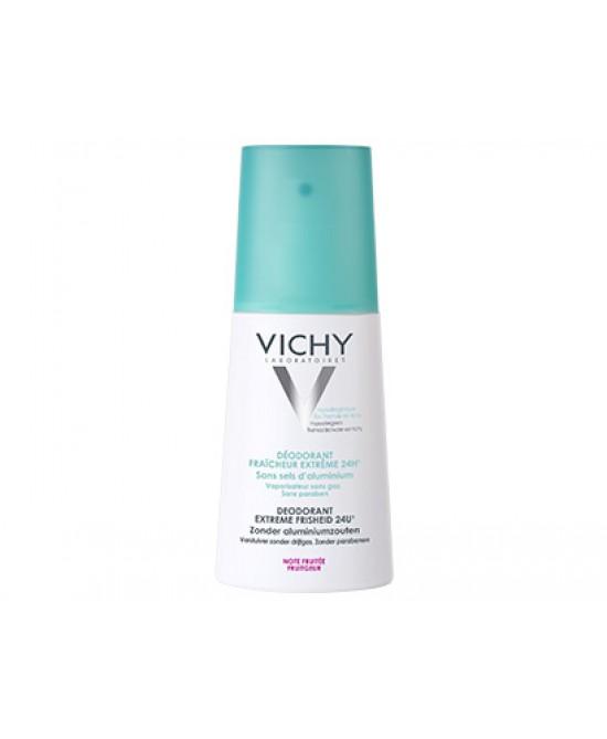 Vichy Deodorante Freschezza Estrema Nota Fruttata 24H Vapo 100ml - Farmacia 33