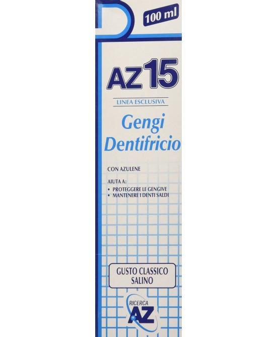 AZ 15 Gengi Dentifricio 100ml - Zfarmacia