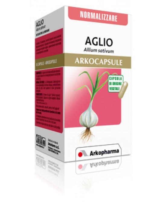 Arkopharma Aglio Arkocapsule Integratore Alimentare 45 Capsule - Antica Farmacia Del Lago