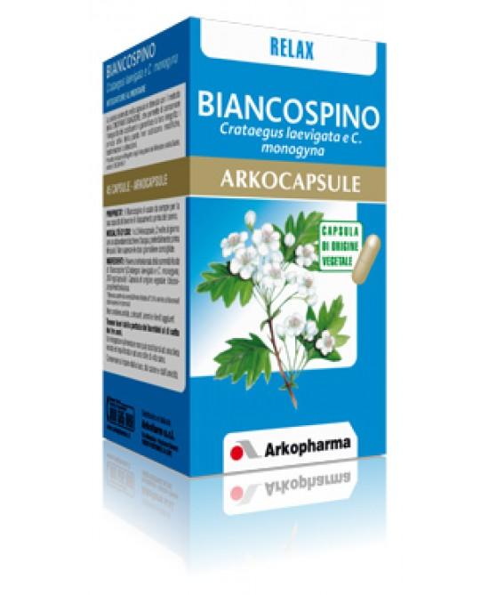 Arkopharma Biancospino Arkocapsule Integratore Alimentare 45 Capsule - Zfarmacia