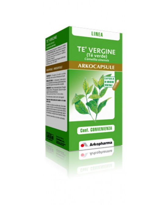 ArkoPharma Tè Vergine Arkocapsule Integratore Controllo del Peso 45 Capsule - La tua farmacia online