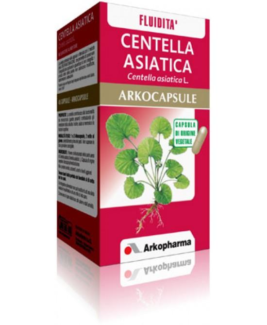 Arkopharma Centella Asiatica Arkocapsule Integratore Alimentare 45 Capsule - Zfarmacia