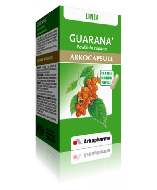 Arkopharma Guaranà Arkocapsule Integratore Alimentare 45 Capsule - FARMAEMPORIO