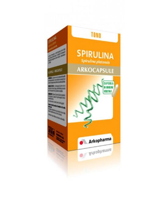 Arkopharma Spirulina Arkocapsule Integratore Alimentare 45 Capsule - Zfarmacia