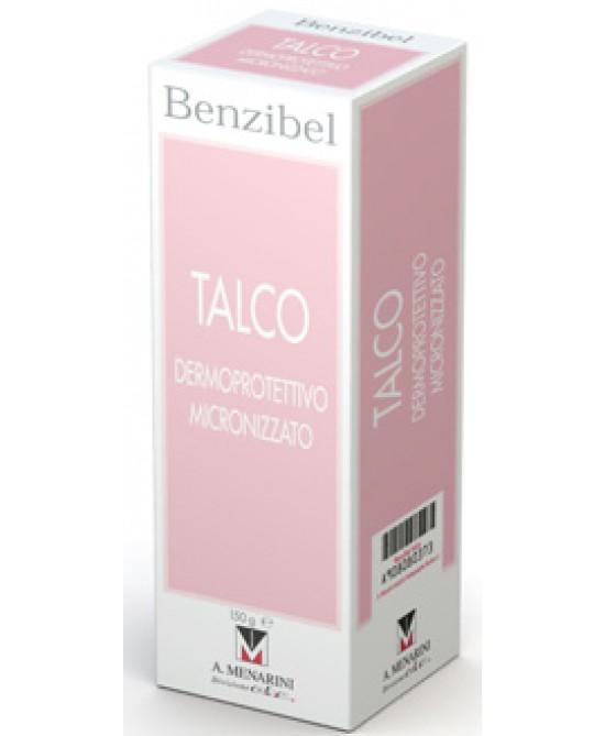 Menarini Benzibel Talco 150g - Farmacento