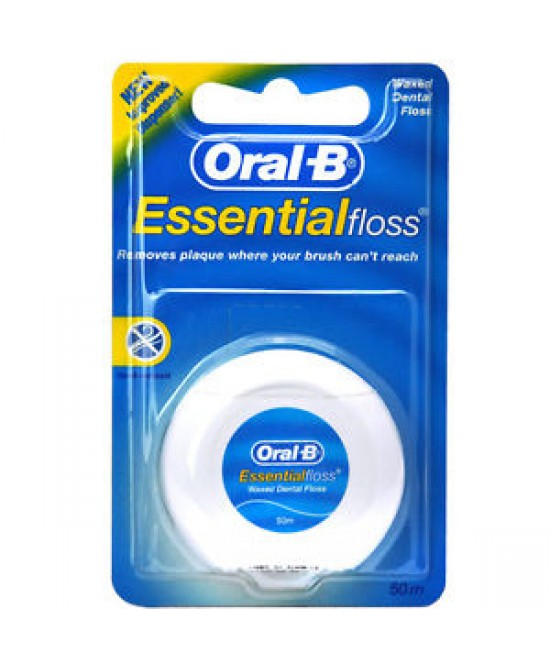 Oral-B Essential Floss Filo Interdentale Cerato 50 Metri - farma-store.it