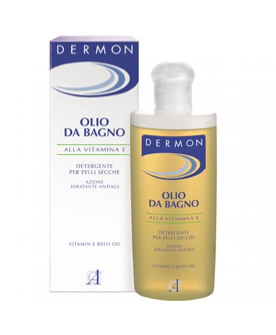 Dermon Olio Bagno Vitamina E 200 ml - Zfarmacia