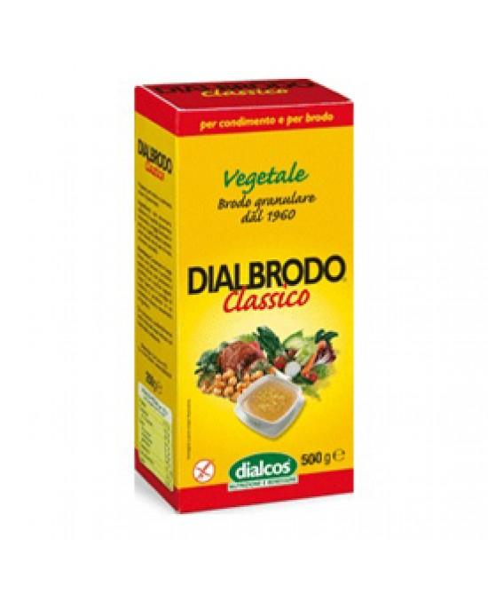 Dialcos Dialbrodo Classico Senza Glutine 500g - farma-store.it