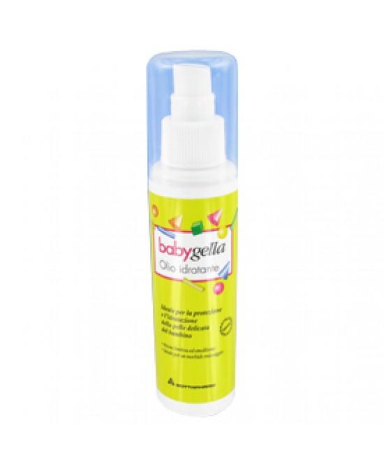 BABYGELLA OLIO IDRATANTE FLACONE 125 ML SPRY - Farmacento