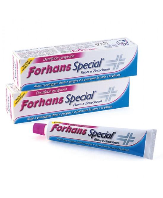 Forhans Special Dentifricio Gengivario Con Fluoro E Zincocloruro Formato Famiglia 75ml - Parafarmaciabenessere.it