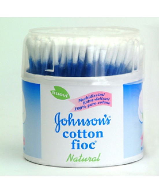 Johnsons Baby Cotton Fioc 100p - FARMAEMPORIO
