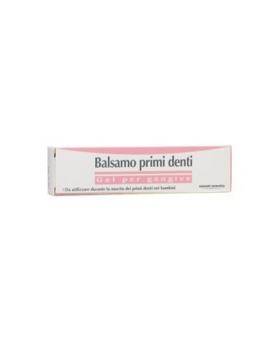 Sanofi Balsamo Primi Denti 25ml - Farmamille