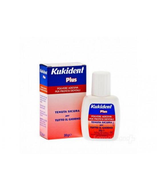 Kukident Plus Polvere Adesiva Per Protesi Dentali 30 g - La tua farmacia online