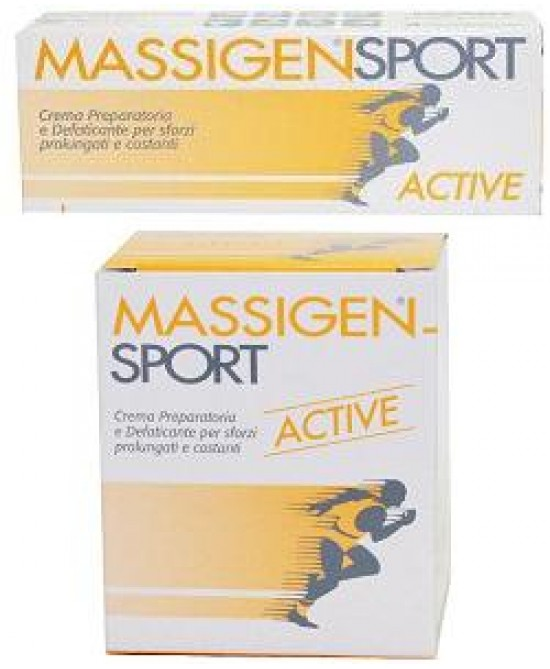 Massigen Sport Active Cr 100ml - Farmacento