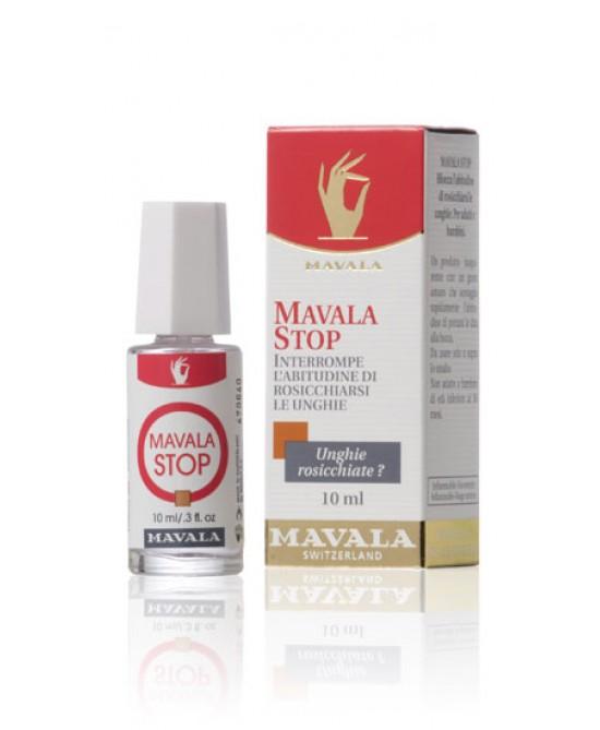 Mavala Stop Contro L'Onicofagia Interrompe L'Abitudine Di Rosicchiarsi Le Unghie 10ml - Farmacia 33