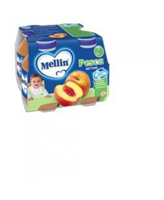 Mellin Nettari Di Frutta Pesca 4x125ml - La tua farmacia online