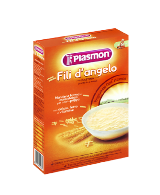 Plasmon Pastina Fili D'angelo 340g - farma-store.it