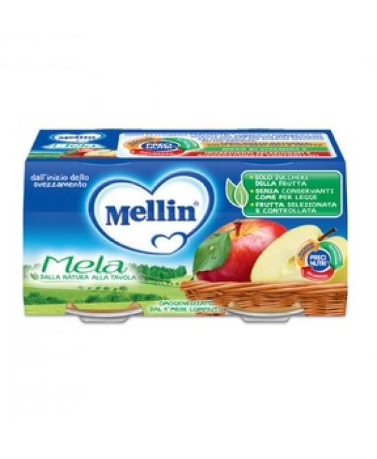 Mellin Nettari di Frutta Mela 2 x 100 g - Farmalilla